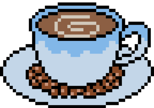 A cup of coffee — a usual Java logo